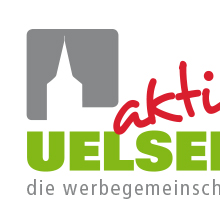 Logo, links